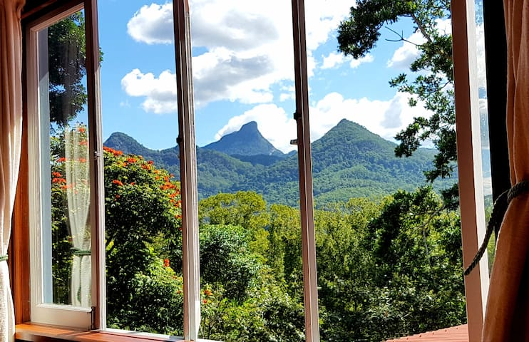The view from your bedroom window.