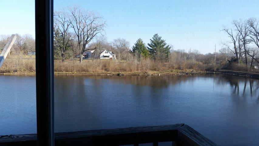 Beautiful huge lake view master room site