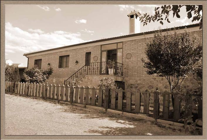 Casa en entorno rural a 5 km de Segovia - Valverde del Majano - Rumah