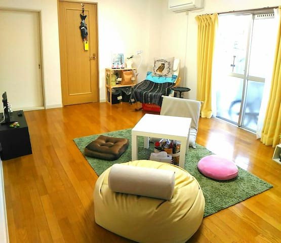 Feel at home with local host & Japan style room - Meguro - Huoneisto