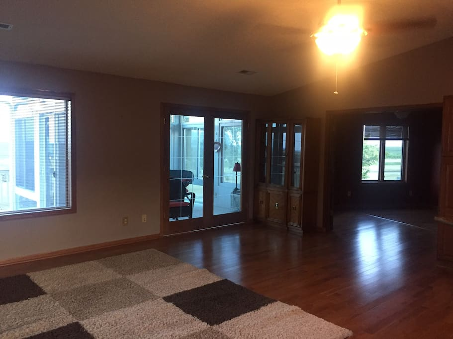 Great room /living room - sunroom in background