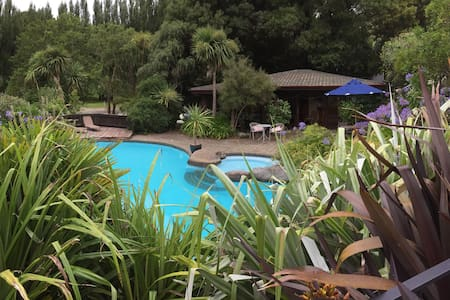 Tranquil cottage 15min Christchurch - Tai Tapu