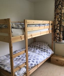 nice room with bunkbed near Amsterdam Airport - Aalsmeer - Casa