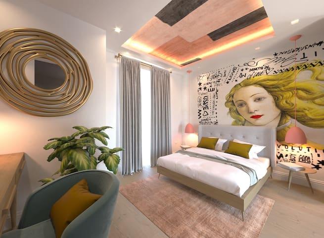 35N-Luxury Boutique Hotel Room Next to Portomaso