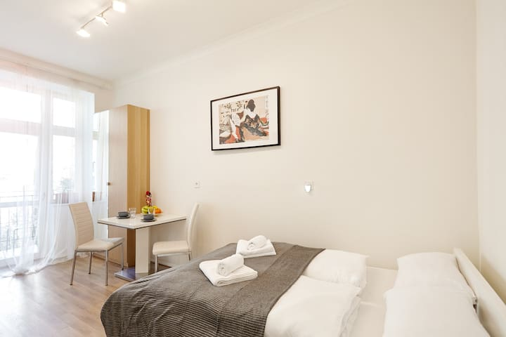 Friendly apartments in Prague + Balcony #21