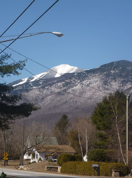 Views of Whiteface from Camp