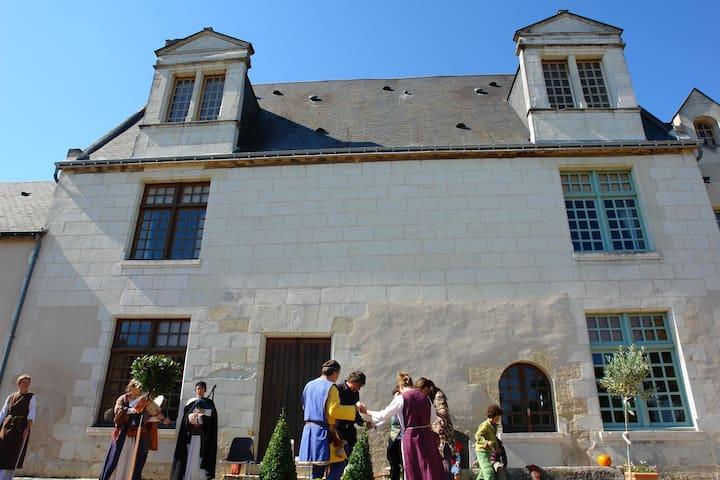 Chambre dans Manoir de Touraine