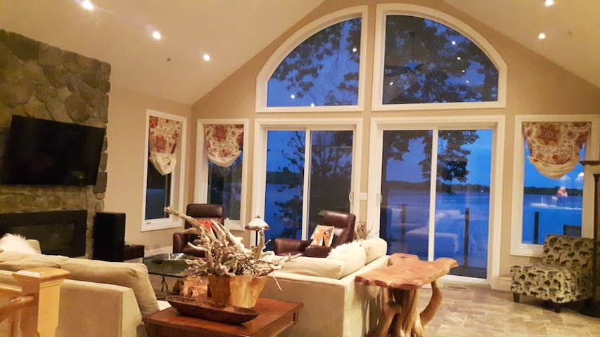 Prince Edward County Picton Waterfront Luxury Home