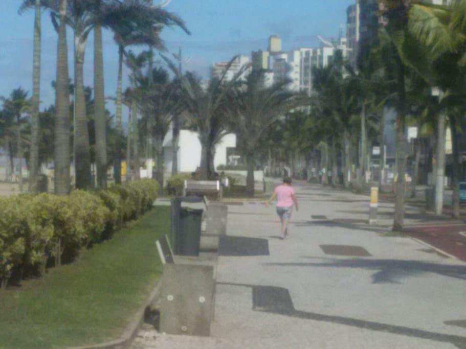 Ótimo para caminhar e pedalar!!