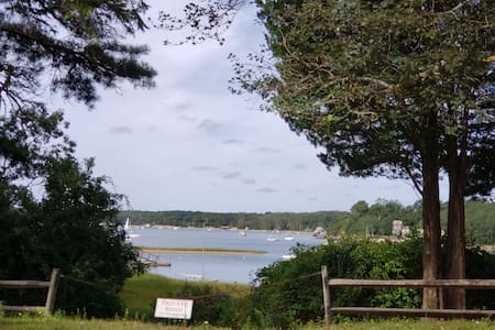Beautiful pleasant bay and  quanset pond