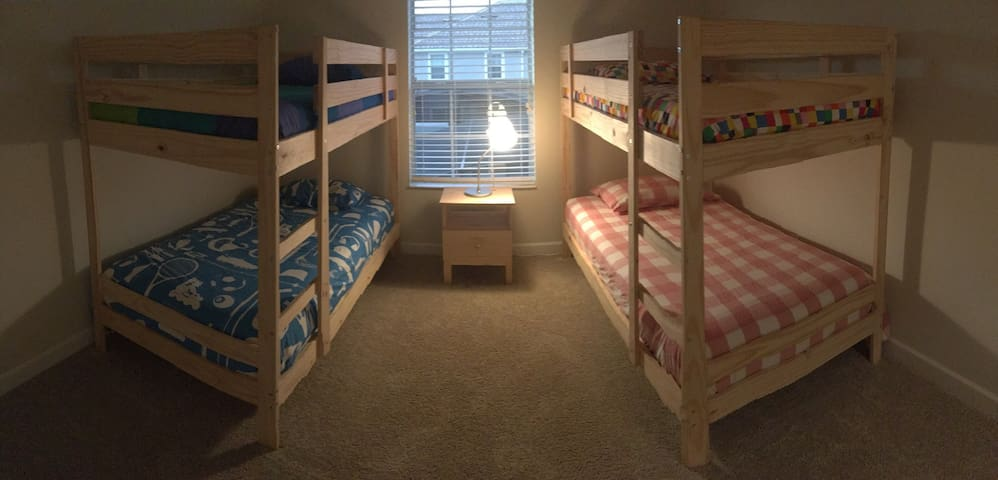 Who doesn't love bunk beds??