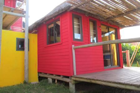 Cabañas Mono Verde Loft(Le Singe Vert) - Blockhütte