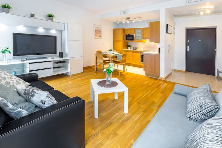 → 470 Luxury Apartment with Balcony →Old Town