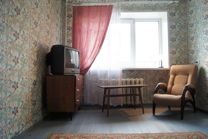 2-х комнатная квартира в стиле СССР на пр. Ленина - Petrozavodsk - Departamento