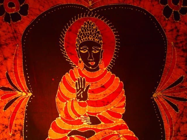 Buddha Room with Private Yoga/Meditation Space
