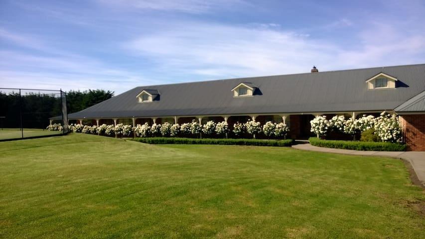 Cleggett Estate, Macedon area Vic - Gisborne - Haus