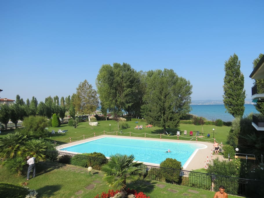 garden 4000 square meters and new pool