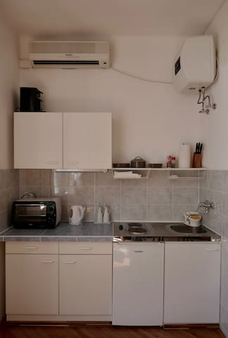 The Kitchen: Simple but complete