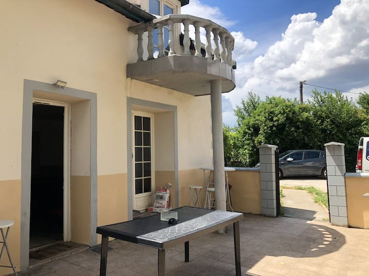 House with 4 bedrooms in Fénay, with enclosed garden and WiFi
