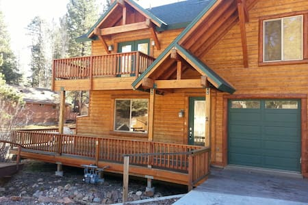 Modern log home, premium decorated