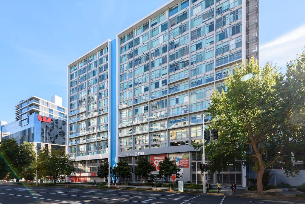 Apartment block at Britomart