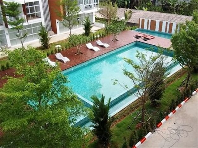 1-bedroom condo - Klong Muang beach - Krabi Noi - Apartemen