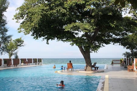 *monthly only*Seaview apartment@Huahin beach