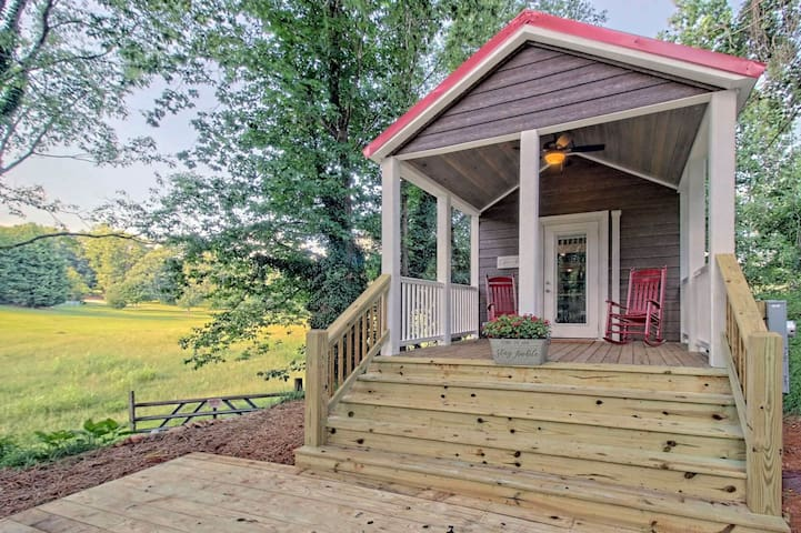 Little Red Roof,  a brand new tiny house