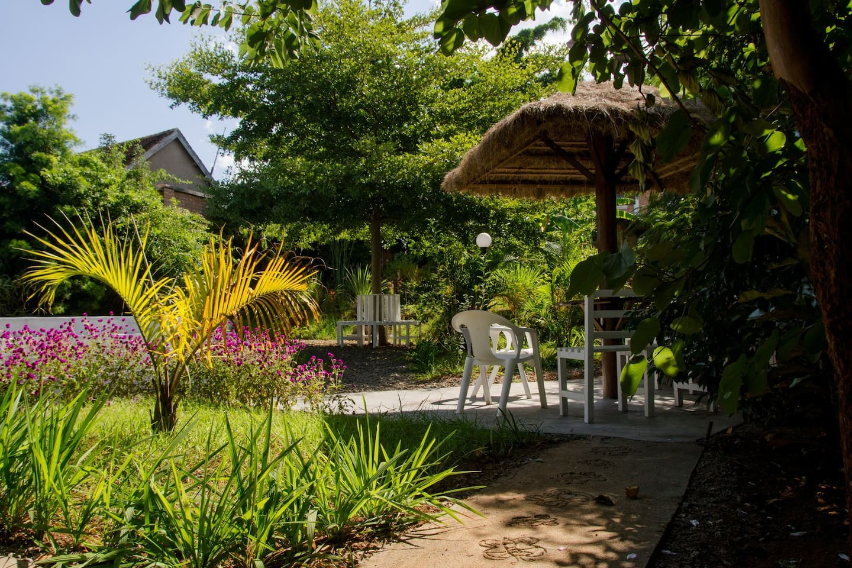 Côté jardin, la zone ZeN