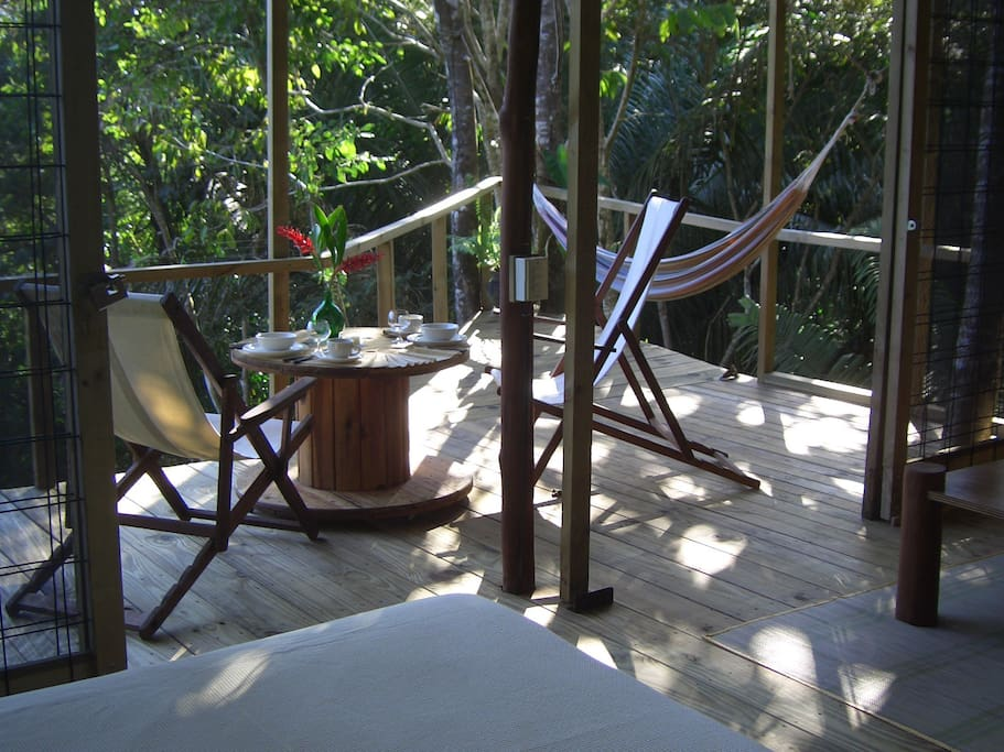 If your dates are not available in the Tree House, check out our brand new JUNGLE DREAM CABIN, on the same property! www.airbnb.com/rooms/15633478