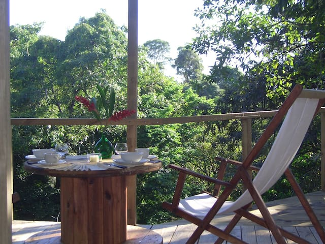 TREE HOUSE, Manuel Antonio/ with great pool !!! - Quepos - Trädhus