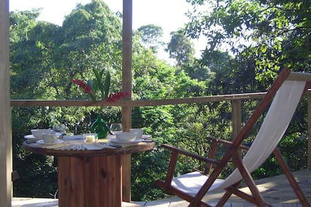 Enjoy your stay in Costa Rica how it should be! Nestled in the lush jungle, with wildlife close to reach, in total peace and harmony with nature!