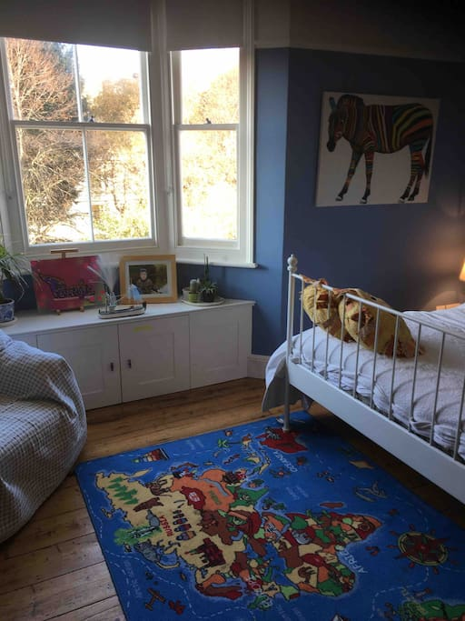 Double Bed on the second floor....comfy and lovely for both adults and children