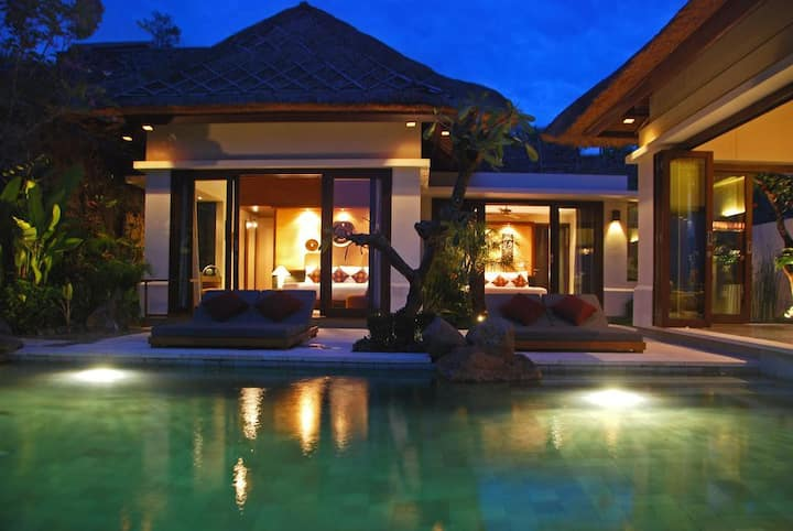 2BR Private Pool Villas at Amed Karangasem