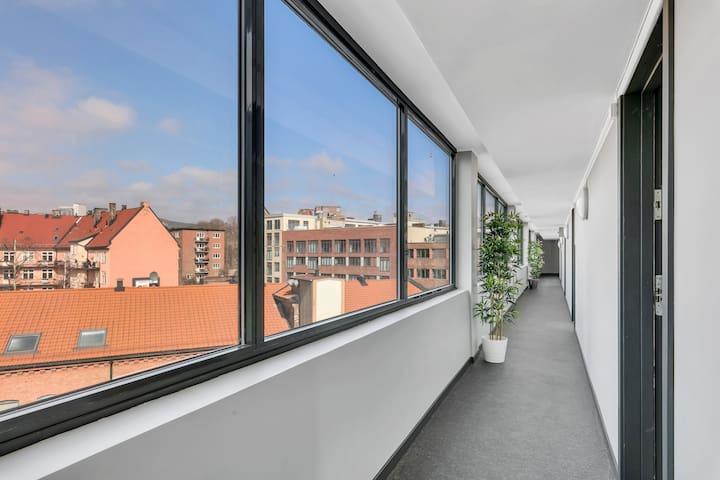 Modern one-bedroom apartment near Carl Berners Plass