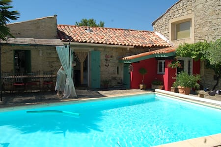 Chambre d'hotes, Courry (30, Gard) - Courry - Bed & Breakfast