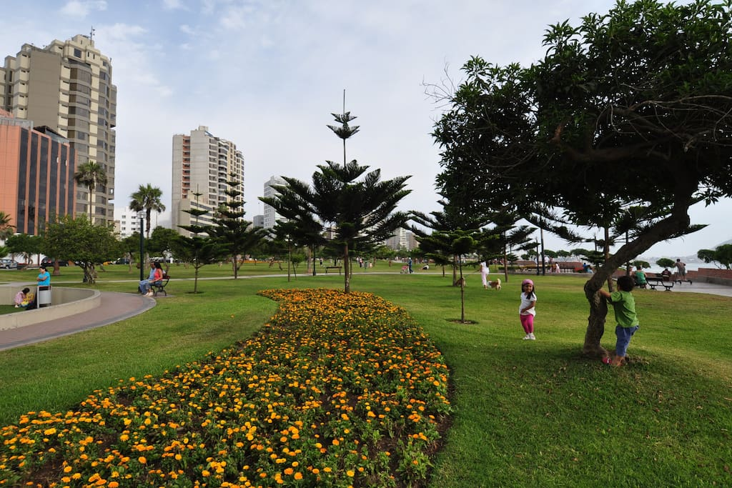 Parque Kennedy en Miraflores