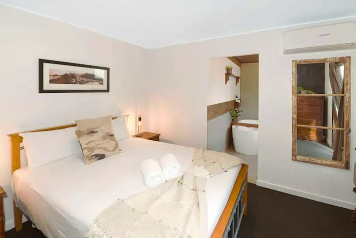 Private Master Bedroom with Washroom / Bath & AC