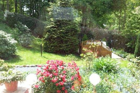 Gemütliche Ferienwohnung mit privatem Garten - Bad Schandau - 公寓