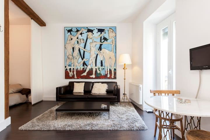 Modern studio in the heart of Lavapiés - Madrid