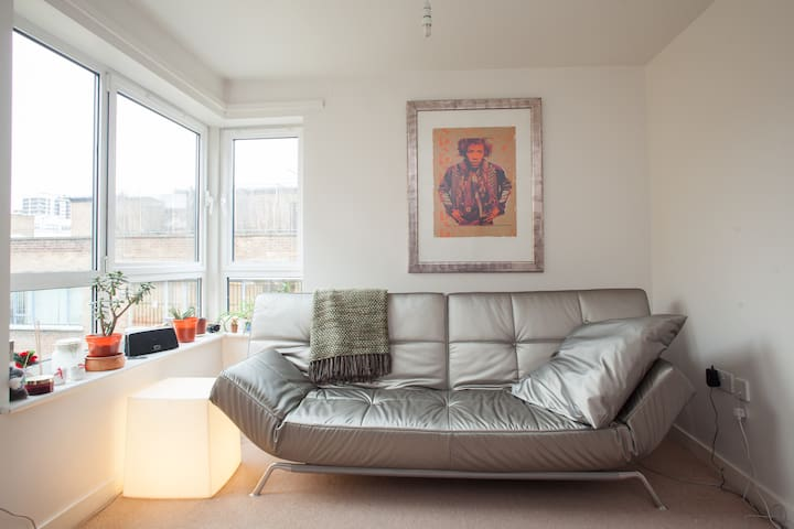 Double room in light airy flat