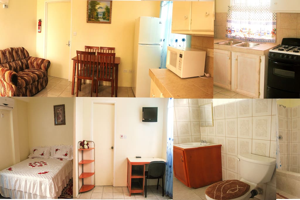 Fully furnished, well ventilated, spacious apartment.