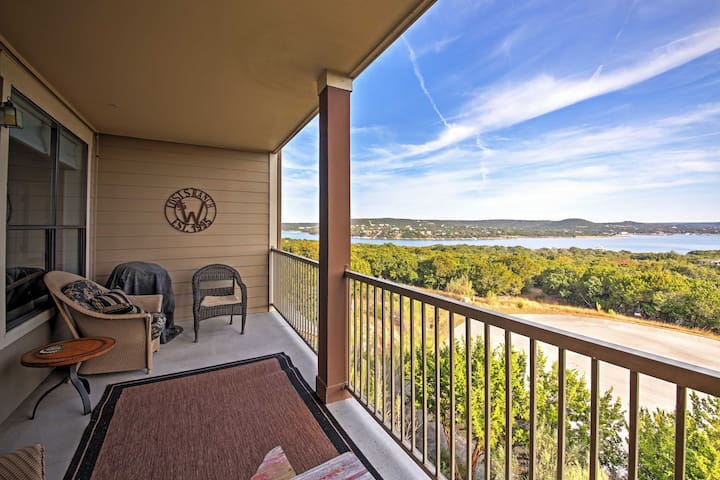 'Lost S Ranch' - 3BR Jonestown Condo-Lake View! - Jonestown