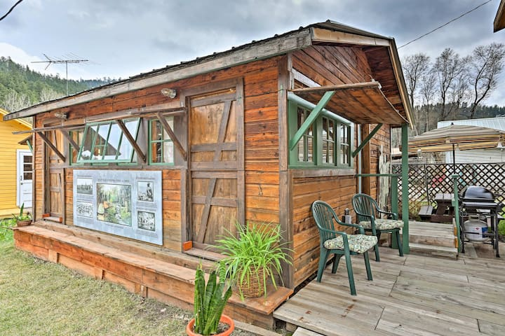 Rustic Keystone House - 4 Miles From Mt. Rushmore!