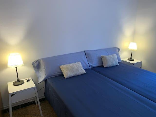 Habitación 1 (dos camas)