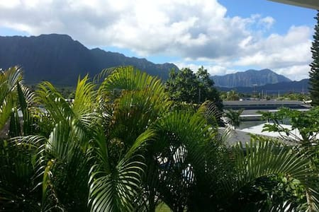 Waimanalo Beach 2 story Apartment - 公寓