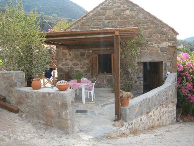 Beautiful Converted Olive Barn - Methana