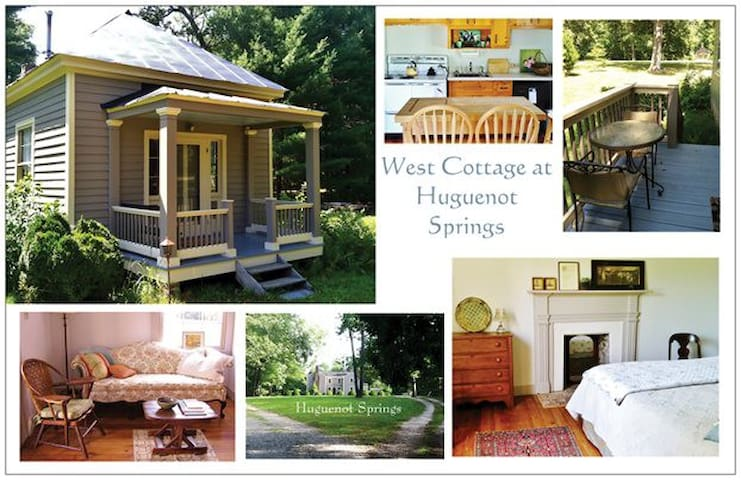 West Cottage at Huguenot Springs