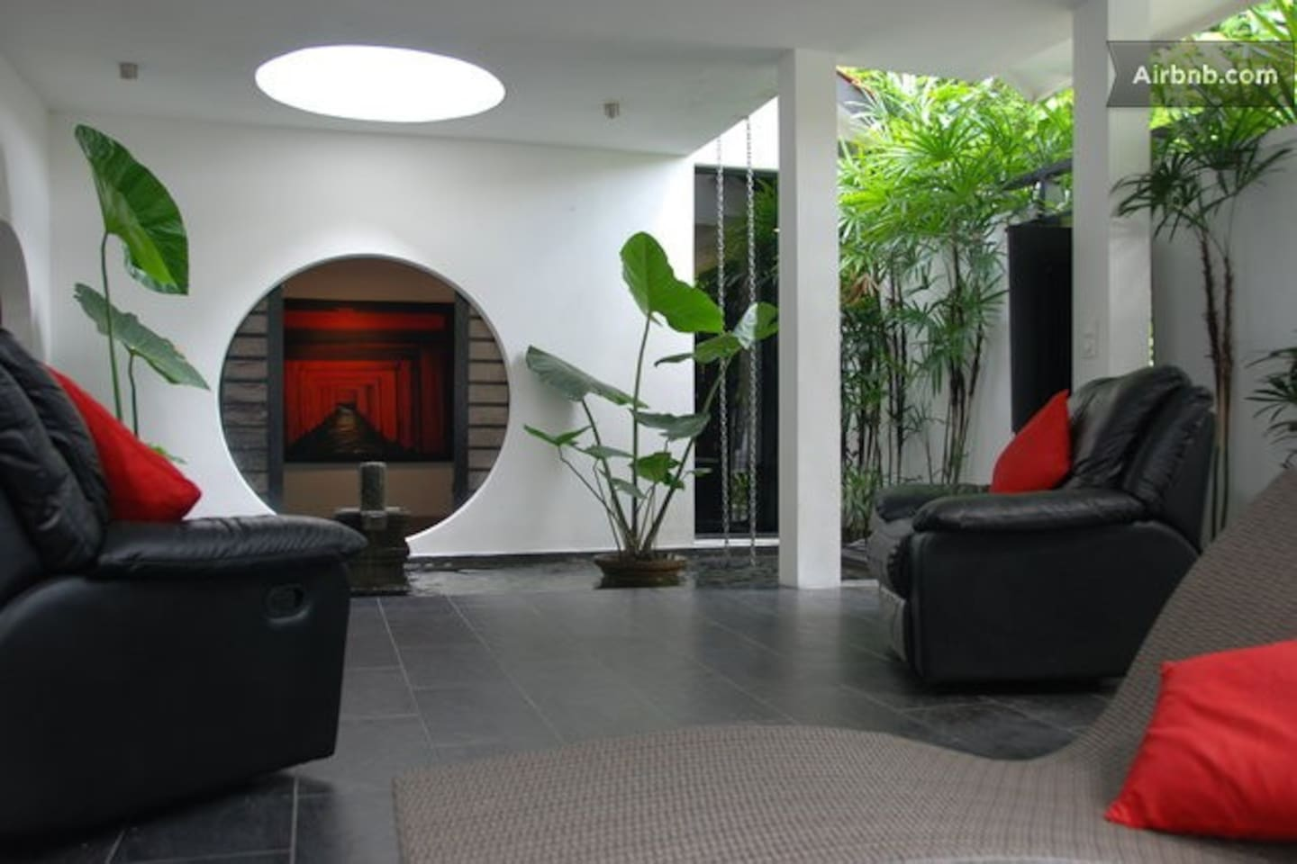 Open living lounge