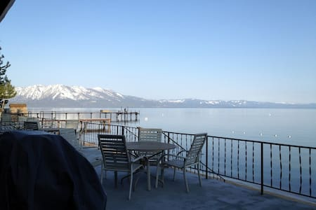 LakeFront, Full Kitchen, 1Bdrm Unit - South Lake Tahoe